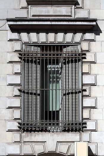 Architecture Building Exterior Built Structure Day Gate Geometric Shape Lines No People Window