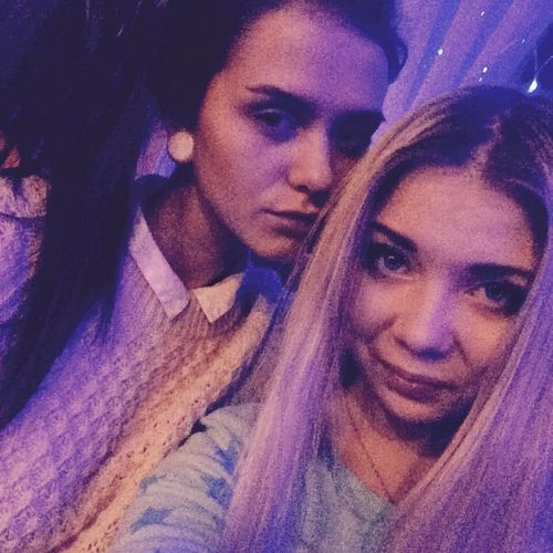 At the party ✌️