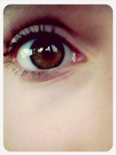 eyeee? Browneyedbeauty Prettybrowneyes