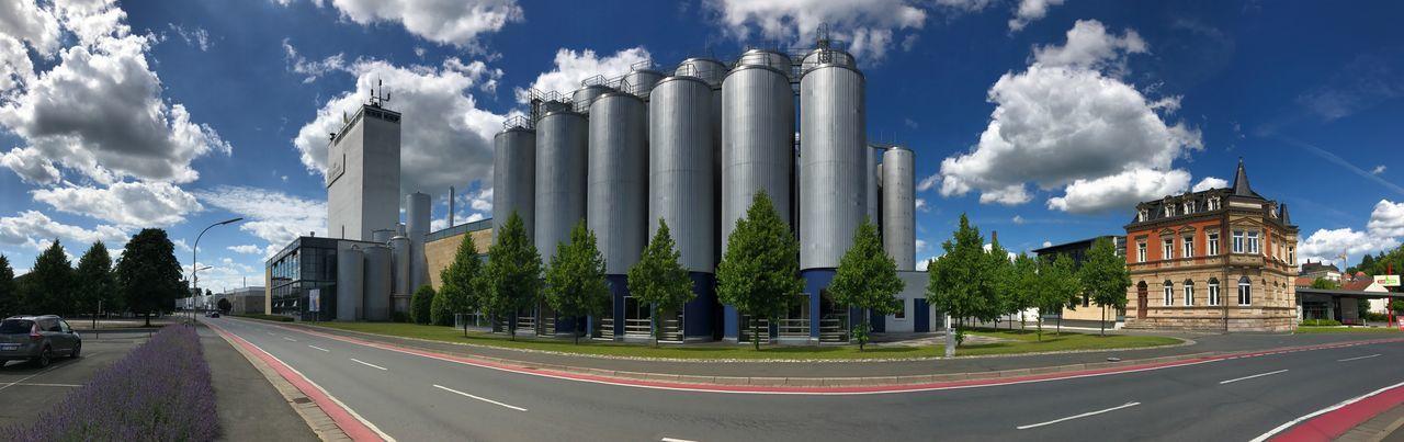Kulmbacher Brauerei Bier Brauerei Kulmbach Sky Cloud - Sky Road Built Structure Building Exterior Architecture City