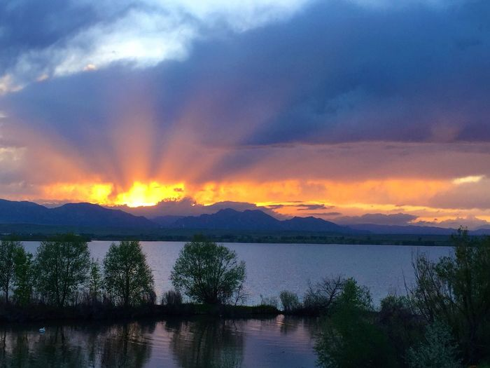 TheCalmAfterTheStorm Sunset Standley Lake Colorful Sky Eye4photography