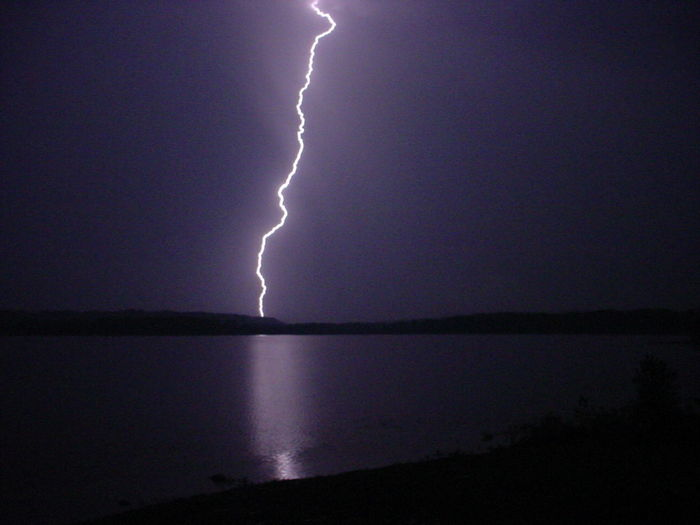 Beauty In Nature Dramatic Sky Forked Lightning Horizon Over Water Lightning Nature Night No People Outdoors Power In Nature Scenics Sea Silhouette Sky Storm Storm Cloud Thunderstorm Water Weather