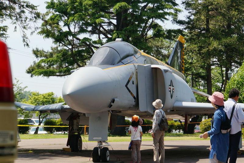厚木基地 春祭りに行ってきました。 U.S. Navy F-4 Phantom Air Plane