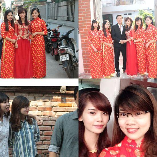 Ngày vui. Đám cưới Việt :)) bạn thân yêu của tôi hạnh phúc nhé Hello World Enjoying Life Vietnam Memories
