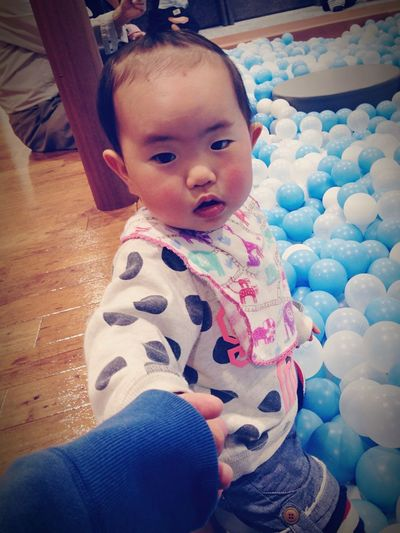 Holiday POV Baby Girl Enjoying Life ボールプール スカイツリー 東京スカイツリー