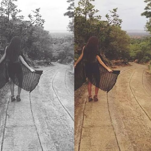 We were like parallel lines: close but never together. Authentic Moments Nature Paradise Beauty Newtothis Brunette Girl Longhair Style Soul Photography Beautiful First Eyeem Photo Dark Fashion Outfit This Is Me Outdoors Alone