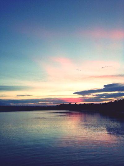 Sunset at biduk-biduk Sunset Biduk Biduk Berau Kalimantan Eastkalimantan  Borneo Eastkalimantan  IPhone