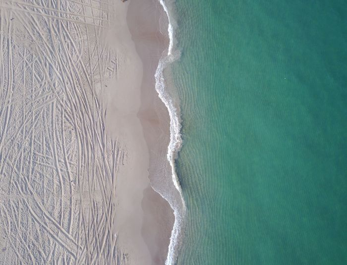 Beach Dubai Beachphotography Beach Drone  Land Water Sea Beach No People Day Nature Aerial View Beauty In Nature