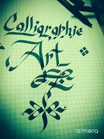 Sanat Huzurdur First Eyeem Photo Kaligrafi Calligraphy Calligraphie Calligraffiti Calligraphyart