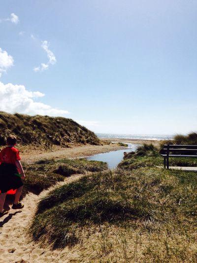 Sandy Path To The Sea Beach Enjoying The Sun Sea Side