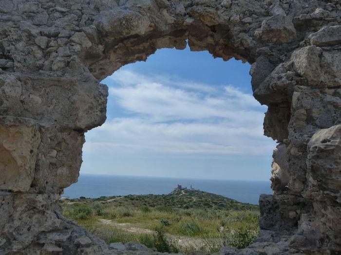 https://it.m.wikipedia.org/wiki/Fortino_di_Sant%27Ignazio Cagliari, Sardinia Sardinia Sardegna Italy  Sardinia Sardegna Fortino Di Sant'Ignazio Sea Cliff Cave Natural Arch Water Old Ruin Rock - Object Pinaceae Rock Formation Arch