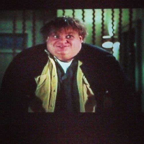 Fat guy in a little coat Tommyboy Chrisfarley Callahanbrakes
