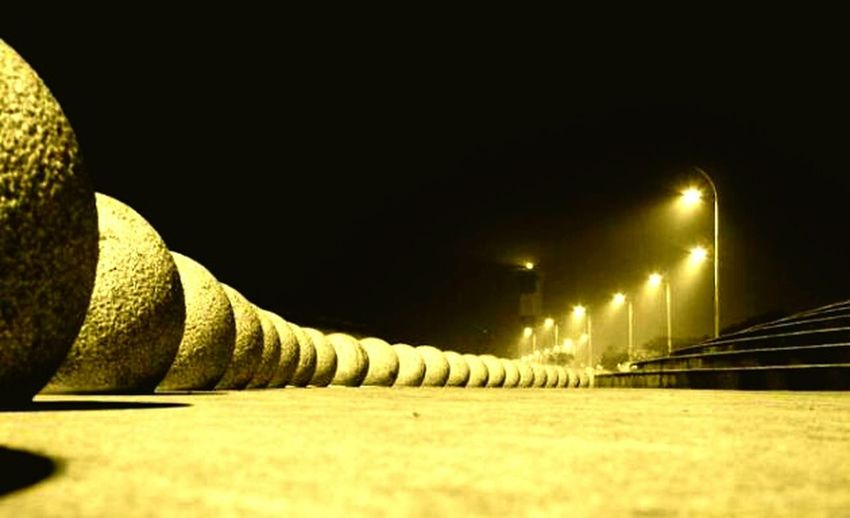 Cities At Night Nigt In Chennai Beach From We Canot Be See Rhem