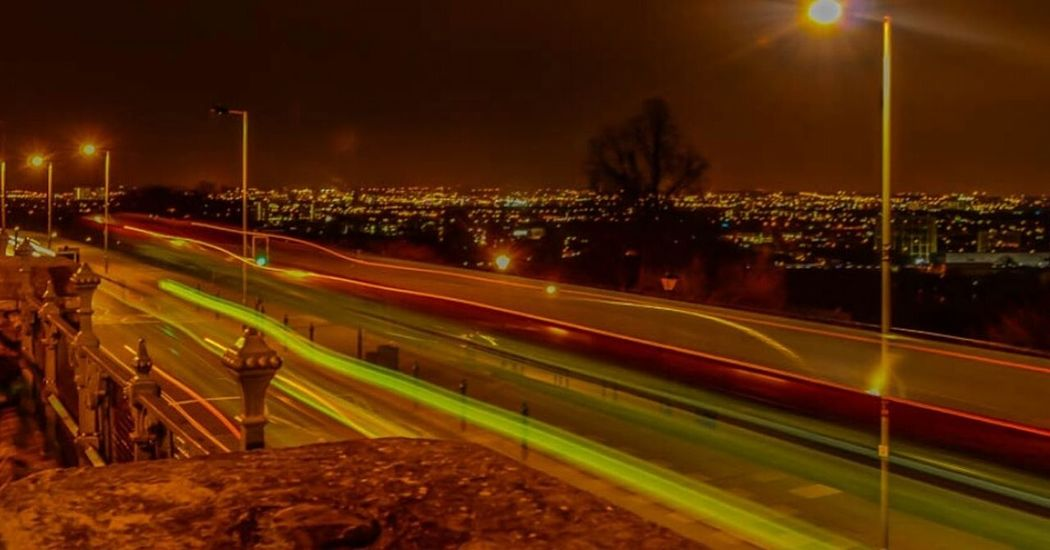 Alexandra Palace LONDON❤ Northlondon Long Exposure