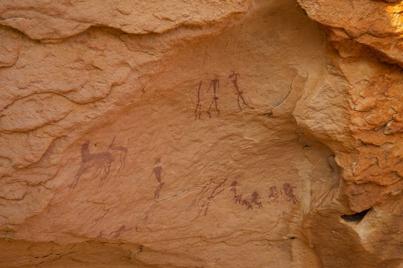 A rock art