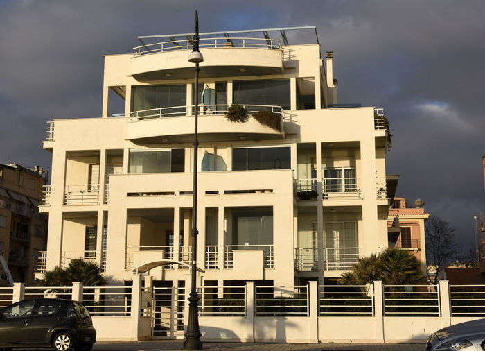 Architecture Architettura Architettura Moderna Before The Storm Before To Rain Building Building Exterior Buildings Built Structure Cielo Nero City Cloud - Sky Dark Sky Bright Light Day Lido Di Ostia Luci Ostia Nature No People Ostia Lido Outdoors Residential District Sky Sole Nuvole