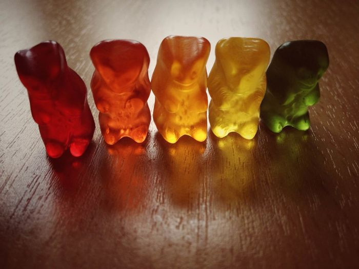 Candycamera Close-up Food Food And Drink Gummy Bears Gummybears Light And Shadow Rainbow Red Showcase:December Showcase: December IPS2016Composition