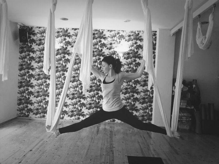aerial yoga First Eyeem Photo
