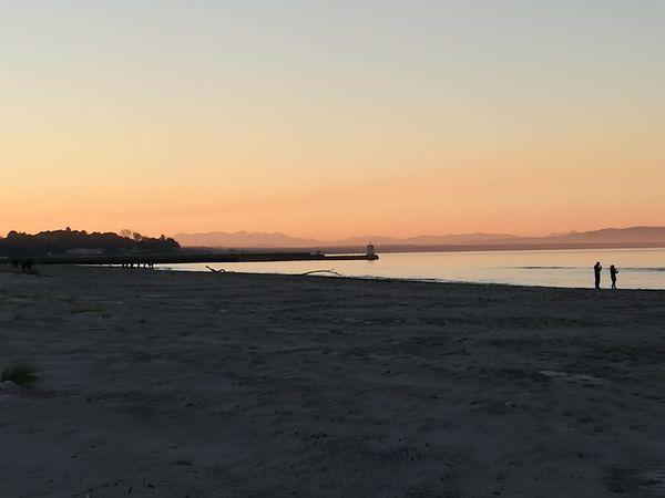Nairn Beach Nairn Scotland Sunset Beach Sunset