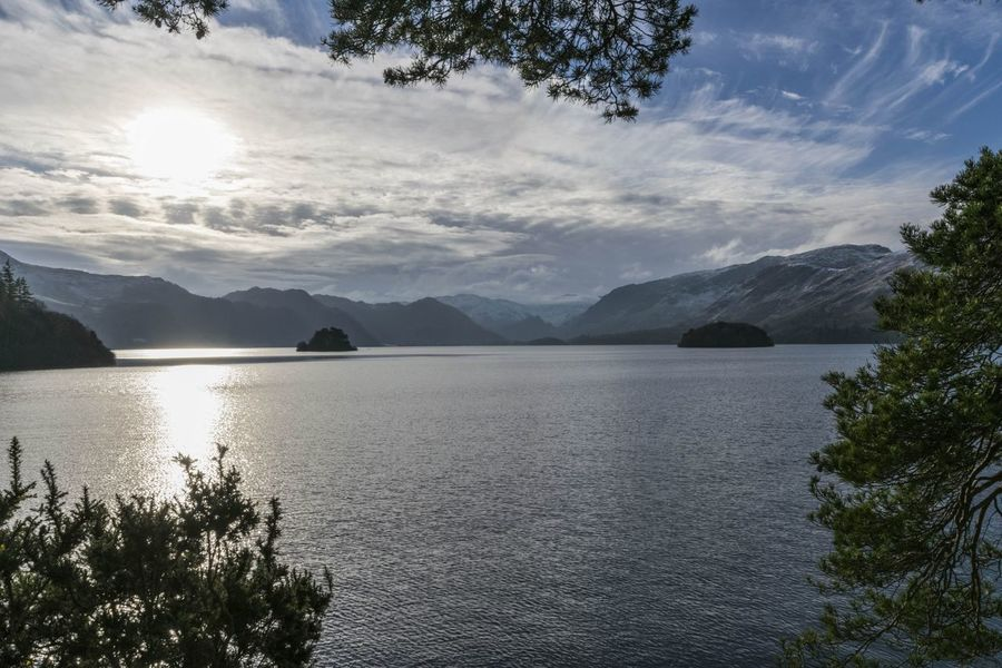 One of my favourite views. Derwentwater from Friars Crag.😊 EyeEm Best Shots Eye4photography  EyeEm Gallery EyeEmBestPics Landscape_photography Landscape_Collection Wide Angle Mountain Tree Water Outdoors Beauty In Nature Tranquility Scenics Nature