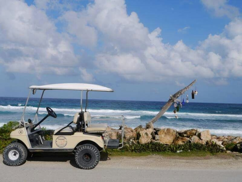 Cancun☀ Isla Mujeres Cancun Beach Photography Sunny☀ Golf Cart Rides Enjoying Life Travel Photography