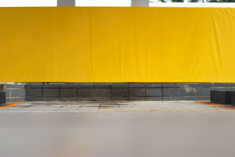 Built Structure Close-up Day Horizontal Indoors  No People Tiled Floor Yellow