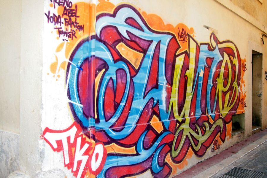 Graph Art De La Rue Graffiti Multi Colored Street Art Built Structure Painted Image Architecture Day Outdoors City