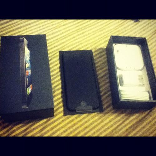 My baby... It's here... Omg Amped IPhone5