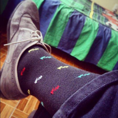 De mis preferifos... Anclas Colores Colors Calcetines Preferidos Sunday Endofweekend Pic Picoftheday Tags Instatag