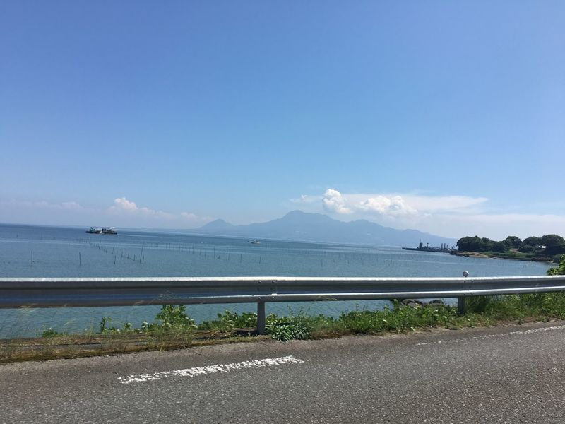 雲仙普賢岳 Taking Photos Volcano Unzen Beautiful Nature Sea And Sky Sea View