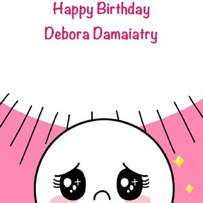 LINE Débora Debby Birthday 13