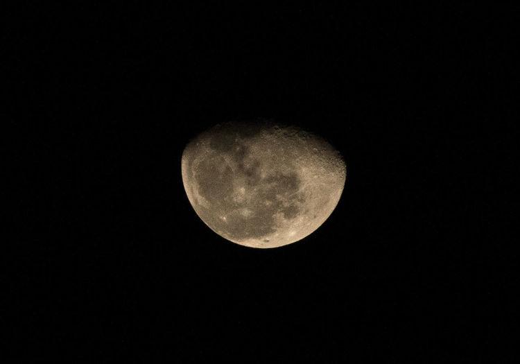 Romantic moon @ Night Satellite Dark Moon Romantic❤ Werewolf Black Cosmos Solar System Beyond Earth First Eyeem Photo