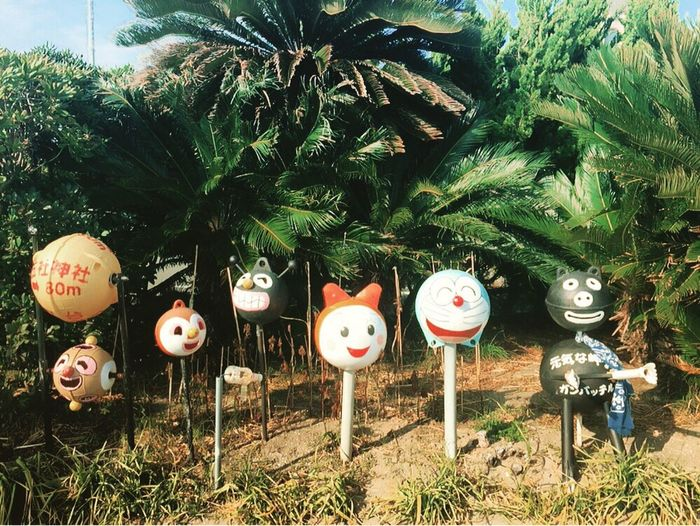 Doraemon and Friends ❤ at the Park Japanese Culture Japanese Style Japanese Park Shizuoka-shi
