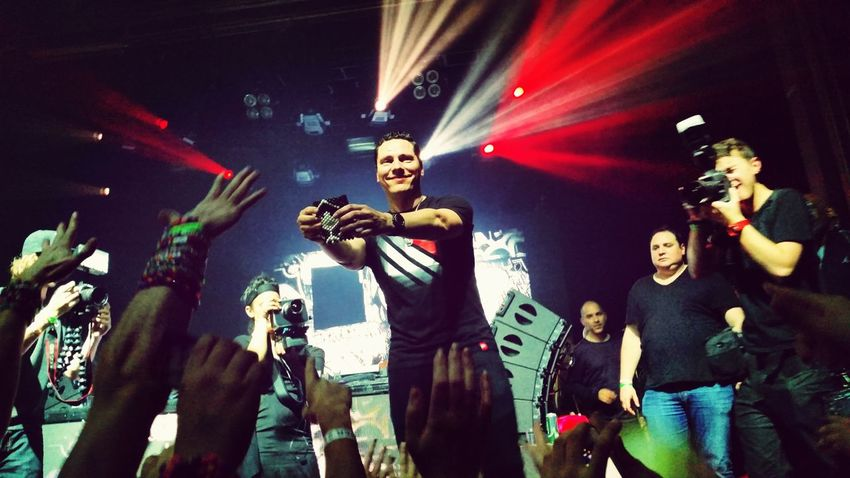 What Does Music Look Like To You? Music is feeling and connecting to something bigger than yourself. Tiesto Webster Hall Edm
