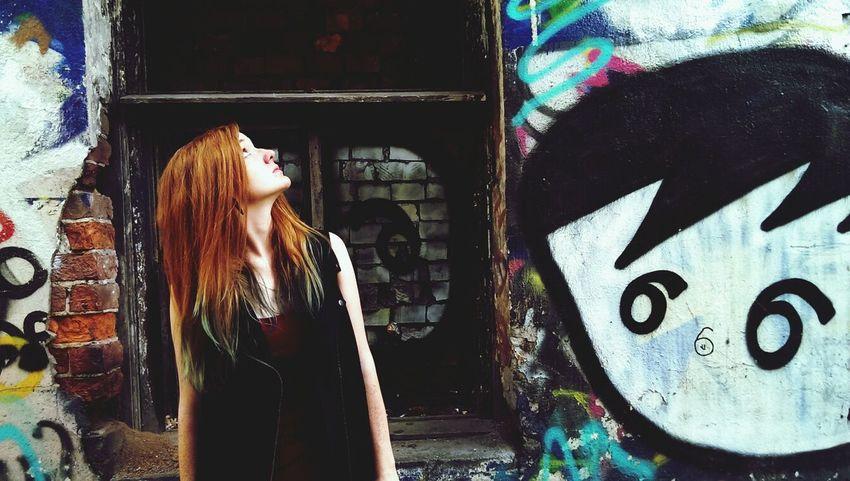 Street Freek Colour Girl Street Art