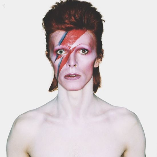 Bowie Shirtless