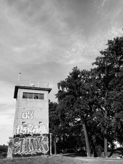 All along the watchtower, one of the few remnants from the Berlin Wall. Berlin Berlin Wall My Fuckin Berlin Berliner Ansichten Watchtower