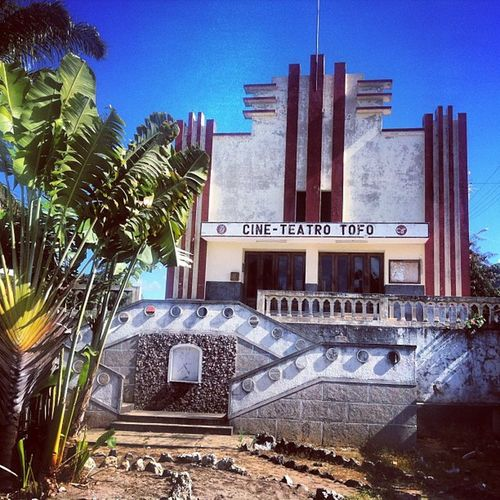 When Cinemas looked cool! @mozamtravel Moztravel Mozambique Inhambane Travel adventure africa