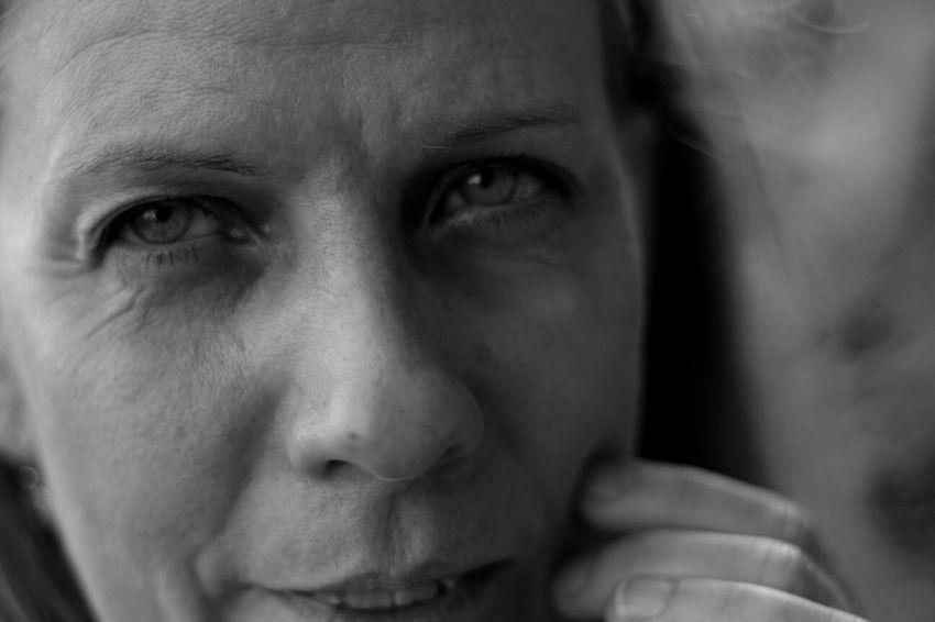 Black & White Portrait Sl1 50mm 1.8
