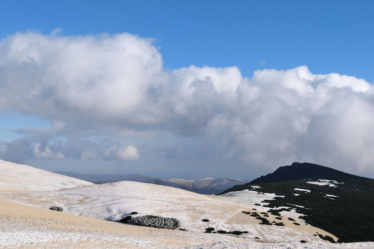the winter is coming Cloudscape Romania Beauty In Nature Cloud - Sky Clouds Clouds And Sky Day Landscape Mountain Nature No People Outdoors Scenics Sky Tranquil Scene Tranquility EyeEmNewHere Be. Ready. Shades Of Winter An Eye For Travel