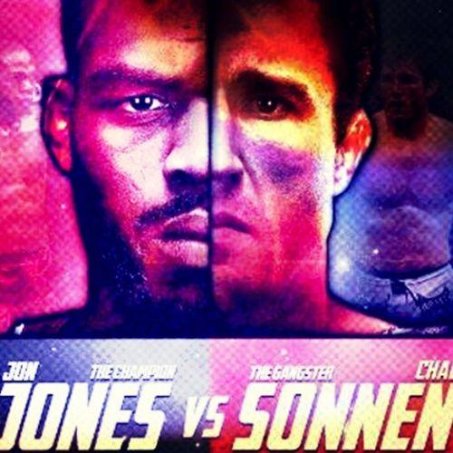 A luta da noite!! /o/o/o/ JonJones vs ChaelSonnen