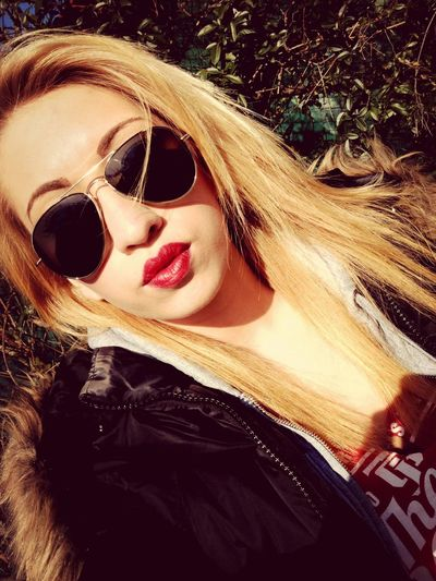 Blonde Sunglasses