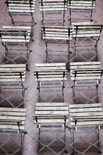 Architecture Backgrounds Chairs Close-up Day Hintergrundgestaltung Indoors  Net Netz No People Wooden The Week On EyeEm
