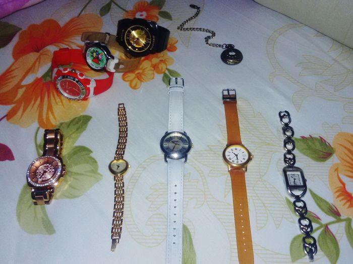 My babies 😃❤💖💜⌚ Dunlop Unisilvertime Casio Babyg Coach CoachWatch Limitwatch Timex Esprit Masterofart