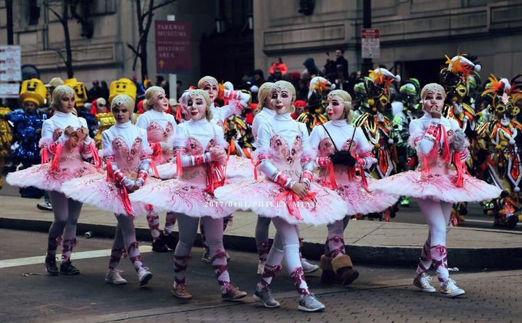 Mummers Parade on 1st of Jan. Mummers Parade MummersParade2017 Parade Philadelphia