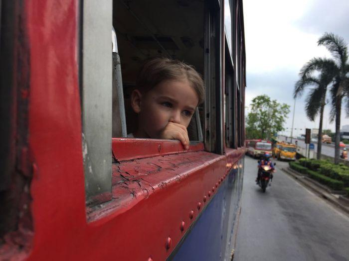 Boy Bus