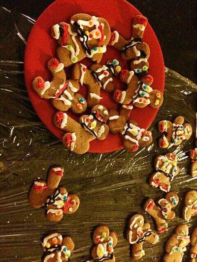 Gingerbread Muñecos Galletas Galletitas Casera