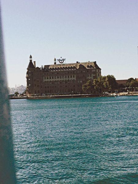Haydarpasa Haydarpaşa Garı Sail Away, Sail Away Boat Ride Sea Scenery Shots Scenery