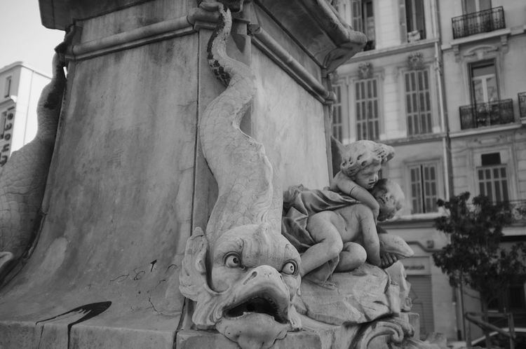 Architechtural Details Beux Blackandwhite Fountain France Monochrome Street Streetphotography