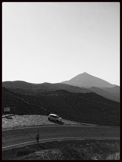 good old times Blackandwhite Landscape Mountain Tenerife